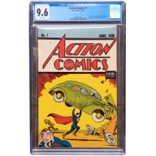 Action 1 Reprint - CGC Graded 9.6