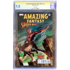 Amazing Fantasy 15 #nn- Signed by Stan Lee - CGC Graded 9.8 Signature Series!