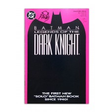 Legends of the Dark Knight #1- Signed by Bob Kane