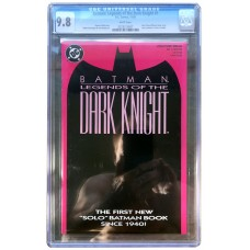 Legends of the Dark Knight #1- (UNSIGNED) CGC Graded 9.8