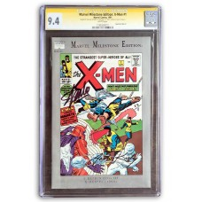 X-Men Milestone 1 - Signed by Stan Lee and Jack Kirby CGC Graded 9.4 - Signature Series!